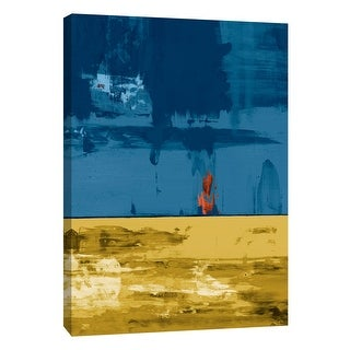 "PTM Images 9-105287  PTM Canvas Collection 10"" x 8"" - ""Squeegeescape 36"" Giclee Abstract Art Print on Canvas"