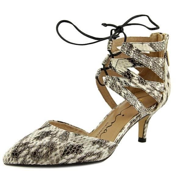 Nina Fun Women Black White Sandals
