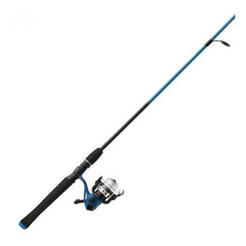 Zebco sales co. zeb-splbl20602ml4 splash blue 20-602ml spin combo 21-37622