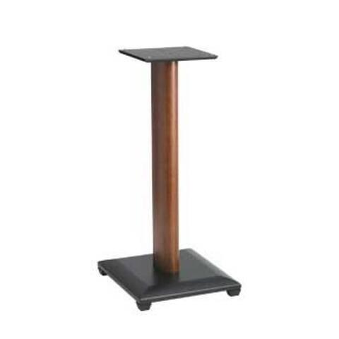 "Sanus 24"" Natural Series Wood Pillar Bookshelf Speaker Stands - Pair (Cherry)"