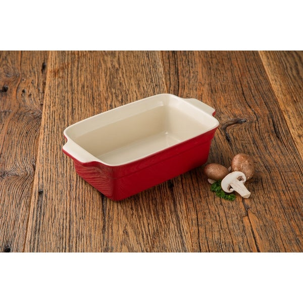 "Artisan Series Bakeware Raphael 11.5"" Loaf Dish for Cooking and Baking. Opens flyout."