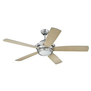 """Craftmade TMP525 Tempo 52"""" 5 Blade AC Motor Indoor Ceiling Fans with Light Kit Included"""
