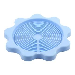 Kitchen Desktop Plastic Heat Resistant Teapot Bottle Kettle Coaster Light Blue