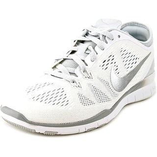 Nike Free 5.0 Tr Fit 5 Women Round Toe Synthetic White Cross Training