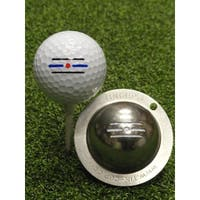 Tin Cup Route 66 Golf Ball Custom Marker Alignment Tool