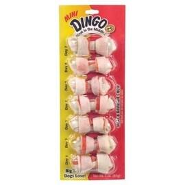 Dingo Rawhideo Mini Bones White 7 ea