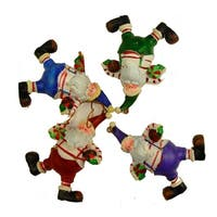 """Club Pack of 72 Santa Claus with Basketballs Christmas Ornaments 7"""" - Multi"""