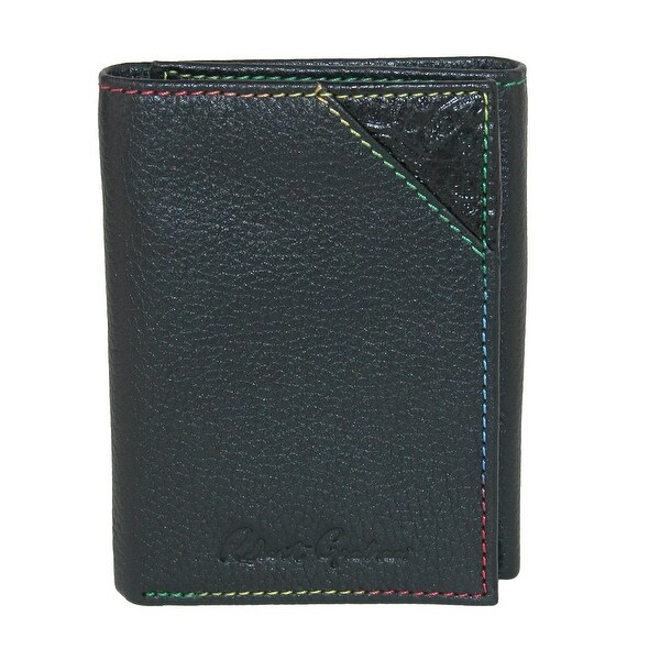 Robert Graham Men's Leather Trifold Wallet with Embossed Detail - One size