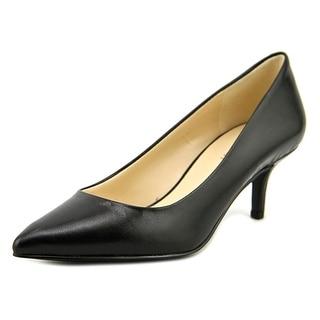 Nine West Xeena Women Pointed Toe Leather Heels