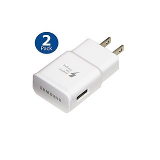 Link to Samsung Original Adaptive Fast Charging Wall Adapter for Galaxy S8 S9 Plus Note 8 White (2 PACK) - 3.6 x 2.2 x 0.7 Similar Items in Cell Phone Accessories