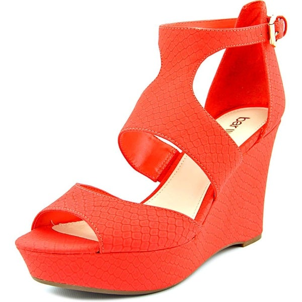 Bar III Sophie Women Open Toe Synthetic Wedge Sandal