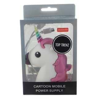 Emojicon Portable Phone Charger Power Bank: Unicorn