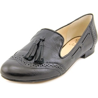 Vince Camuto Chayton Women Round Toe Leather Loafer