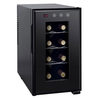 Sunpentown WC-0888H 8-bottle Thermo-Electric Slim Wine Cooler with Heating