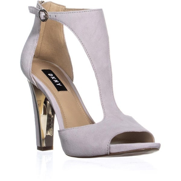 4223b4e88 Shop DKNY Colby Ankle Strap Pumps, Linen - 7.5 us / 38 eu - Ships To ...