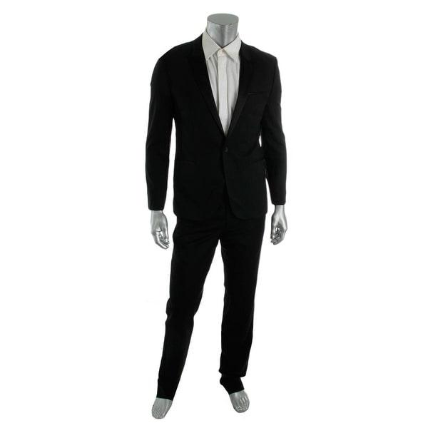 428c2a75d Shop Hugo Hugo Boss Mens Aylor/Herys Tuxedo Wool Satin-Trim - Free ...