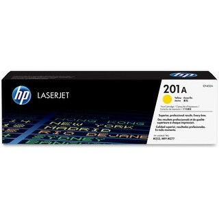 HP 201A Yellow Original LaserJet Toner Cartridge (Single Pack) HP 201A Toner Cartridge - Yellow - Laser - 1400 Page - 1