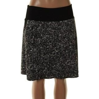 Kenneth Cole New York Womens A-Line Skirt Printed Knee-Length - 4