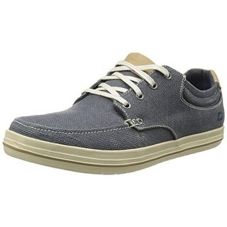 Skechers Mens Landen Stellar Canvas Relaxed Fit Fashion Sneakers - 11 medium (d)