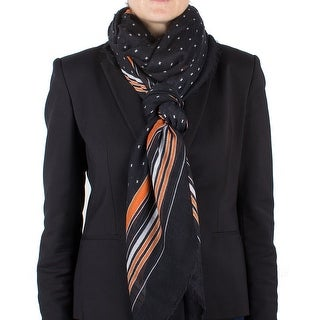 Givenchy Women's Striped Cashmere Scarf Large