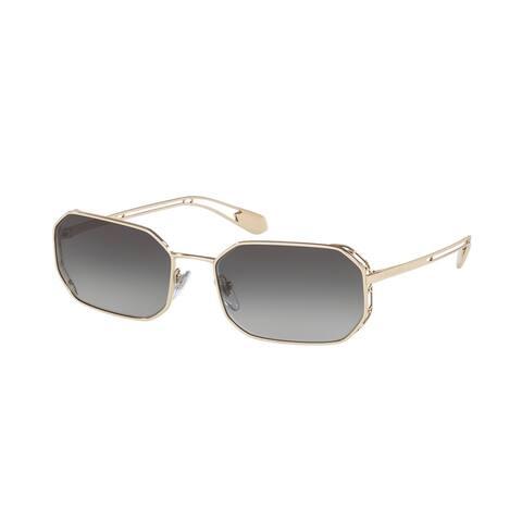 Bvlgari BV6125 278/8G 57 Pale Gold Woman Irregular Sunglasses