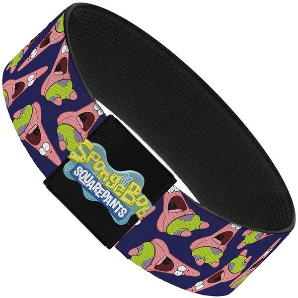 Patrick Starfish Pose Scattered Purple Elastic Bracelet