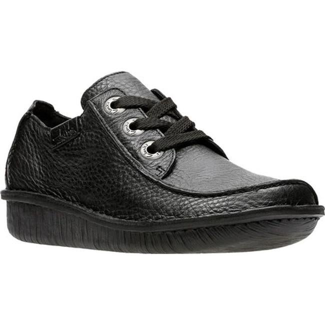 Funny Dream Lace Up Shoe Black Leather