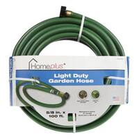 "Home Plus AC1615100 Light Duty Garden Hose, 5/8"" x 100'"