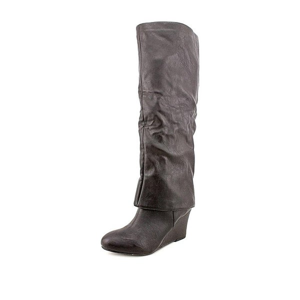 Style & Co. Womens Minka Almond Toe Knee High Riding Boots - 5.5