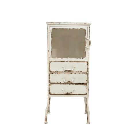 Metal Cabinet with 3 Drawers