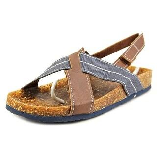 Natural Steps Sagebrush Open-Toe Leather Slingback Sandal