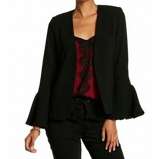 Romeo & Juliet Couture NEW Black Women's Size Small S Open Jacket
