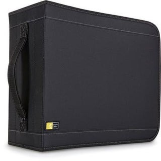 Case Logic - Cdw-320 - Nylon Cd Wallet 336 Black
