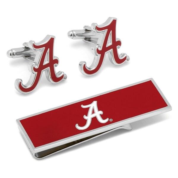 University of Alabama Crimson Tide Cufflinks and Money Clip