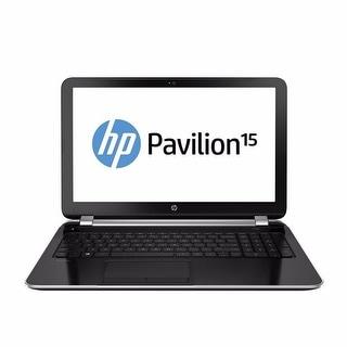 "HP Pavilion 15-N207CL 15.6"" Touch Laptop AMD A10-4655M 2.0GHz 8GB 1TB Windows 10"