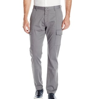Calvin Klein NEW Gray Mens Size 32X32 Cargo Slim Fit Solid Pants