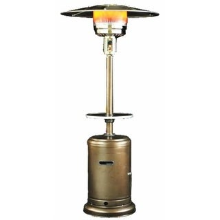 Sunheat PHRDGH 41,000 BTU Golden Hammered Finish Propane Patio Heater - golden hammered fini