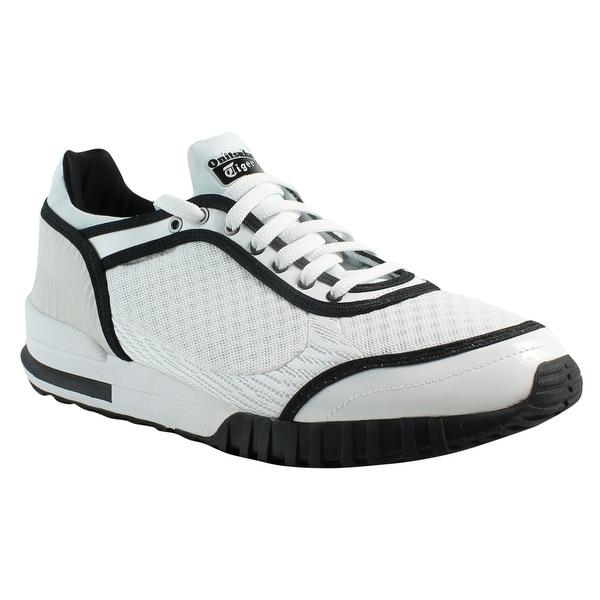 the latest a9c4d 099b4 Shop Onitsuka Tiger Mens D6h0n White/Black Fashion Shoes ...