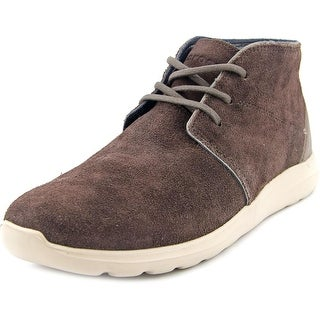 Crocs Kinsale Lace-up Men Round Toe Synthetic Brown Sneakers