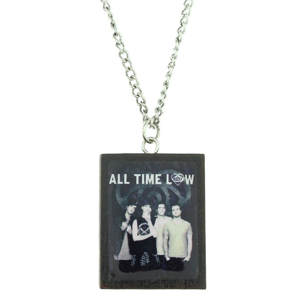 All Time Low Image Tile Necklace