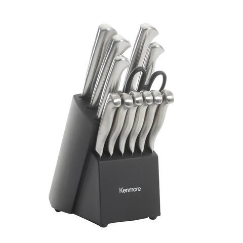 Kenmore 13-piece Cutlery Set with Storage Block