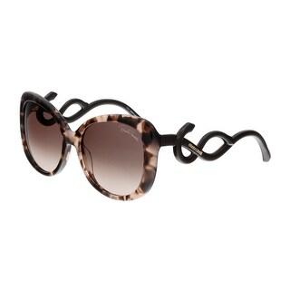 Roberto Cavalli RC911S MINTAKA 55F Havana Square Sunglasses - 56-17-140