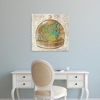 Easy Art Prints Chariklia Zarris's 'Glass Garden I' Premium Canvas Art