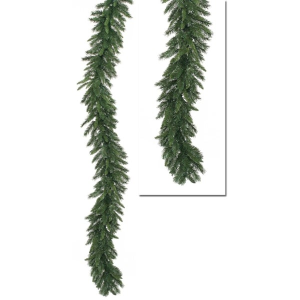 "9' x 14"" Imperial Pine Artificial Christmas Garland -Unlit - green"