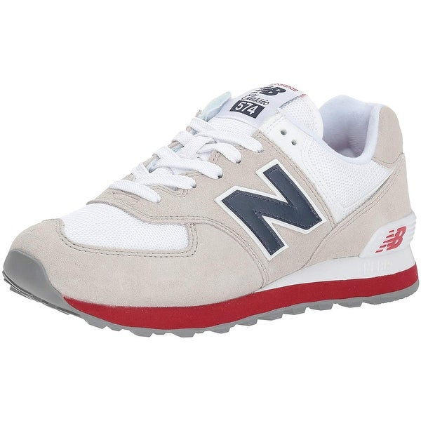 best sneakers b2219 581a3 New Balance Mens ML574esa/574v2 Low Top Lace Up Fashion Sneakers