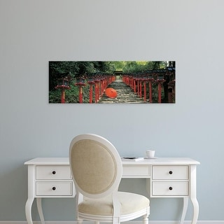Easy Art Prints Panoramic Images's 'Kibune Shrine Kyoto Japan' Premium Canvas Art