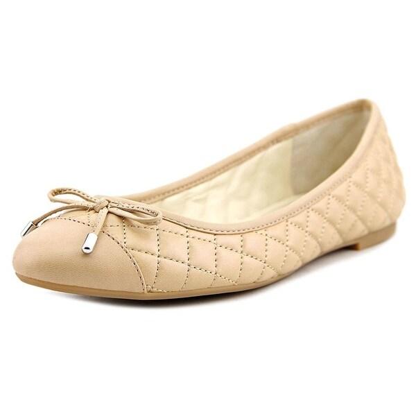 BCBGeneration Weston Round Toe Leather Ballet Flats