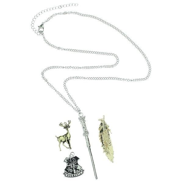 Harry Potter Wand Charm Necklace