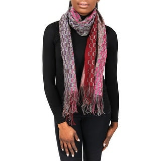 Missoni SC31PSD5929 0001 Multicolor Wool Blend Womens Scarf