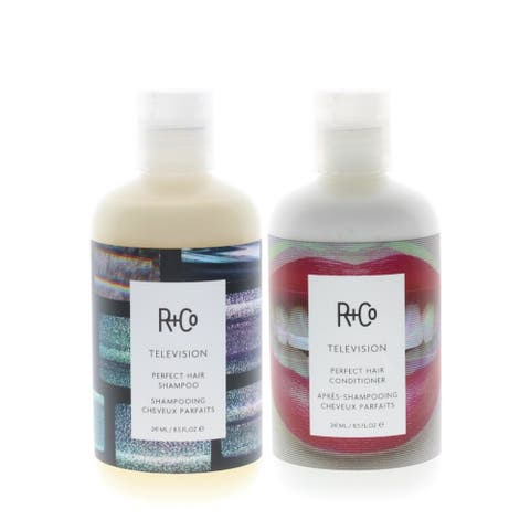 R+Co Television Perfect Hair Shampoo and Conditioner 8.5oz/241ml COMBO - 8.5oz